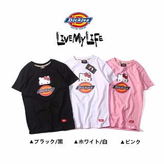 ディッキーズ 可愛い 半袖Tシャツ 3色 DYF-0553