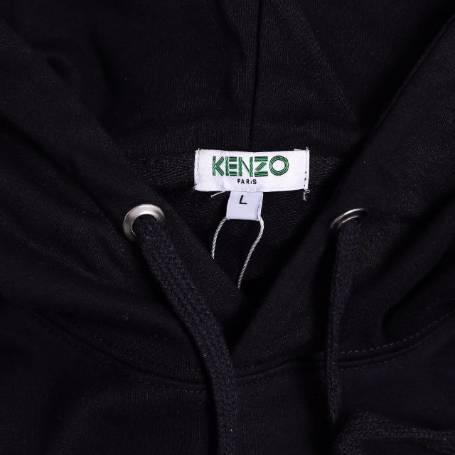 kenzoパーカー 刺繍ロゴ 男女兼用 KCKE-16