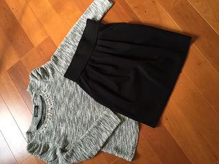 ビジュートップス&EMODAスカート