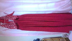 プリーツドレス