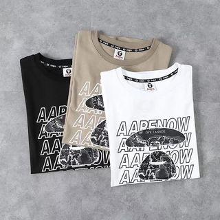 APETシャツ メンズ 2色選択 おしゃれ