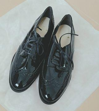 EMODA系 ポインテッドshoes ブラック
