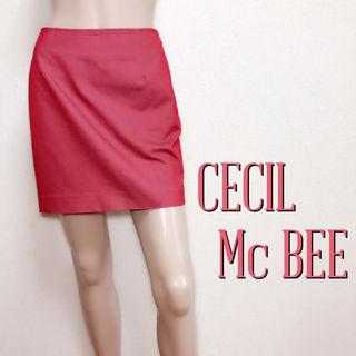 必需品セシルマクビー シンプルジップスカート