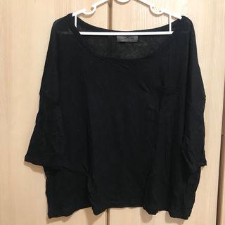 ドルマン カジュアル 七分袖 Tシャツ