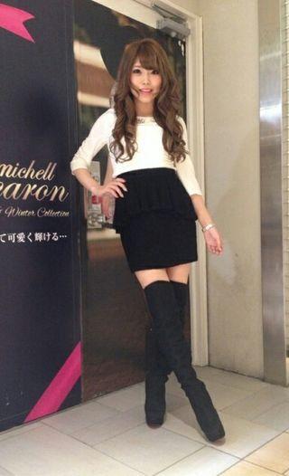 ミシェルマカロンペプラムスカート