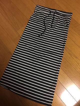 SPIGAボーダースカート