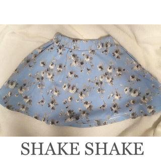 限定SALESHAKE SHAKEフラワースカート