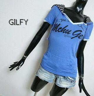 GILFY*フード付Tシャツ