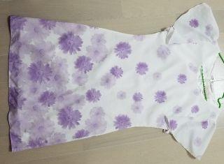 エミリアウィズ ドレス 花柄ワンピース