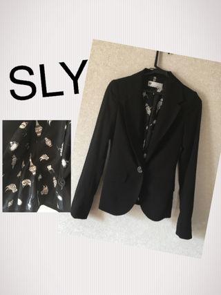 SLY テーラードジャケット
