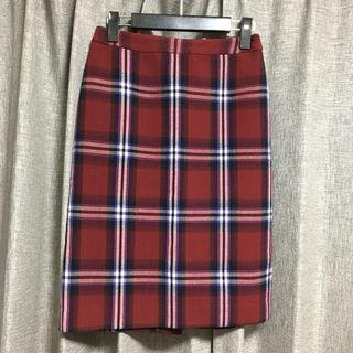 ロペピクニックチェックタイトスカート
