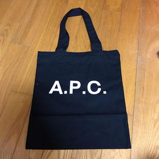 A.P.C トートバッグ 黒