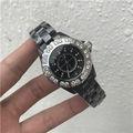 シャネルJ12黒ダイヤクオーツ腕時計