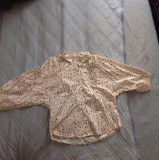 カラフルドット柄シャツ