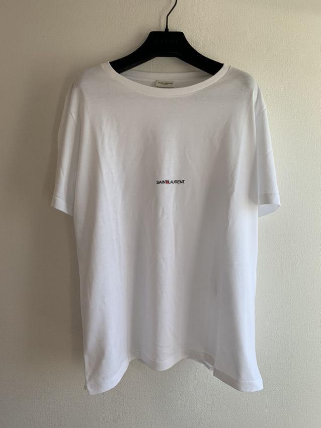 【SAINT LAURENT】ショートスリーブ Tシャツ(Yves Saint Laurent(イヴ・サンローラン) ) - フリマアプリ&サイトShoppies[ショッピーズ]
