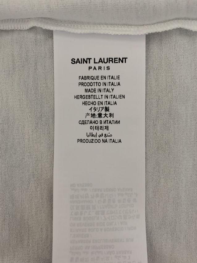 【SAINT LAURENT】ショートスリーブ Tシャツ