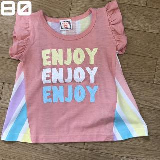 新品未使用 ベビーTシャツ カラフル 女の子