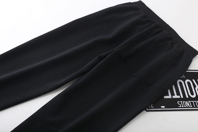 新品!JUSTDOT スウェットパンツ 男女兼用 黒
