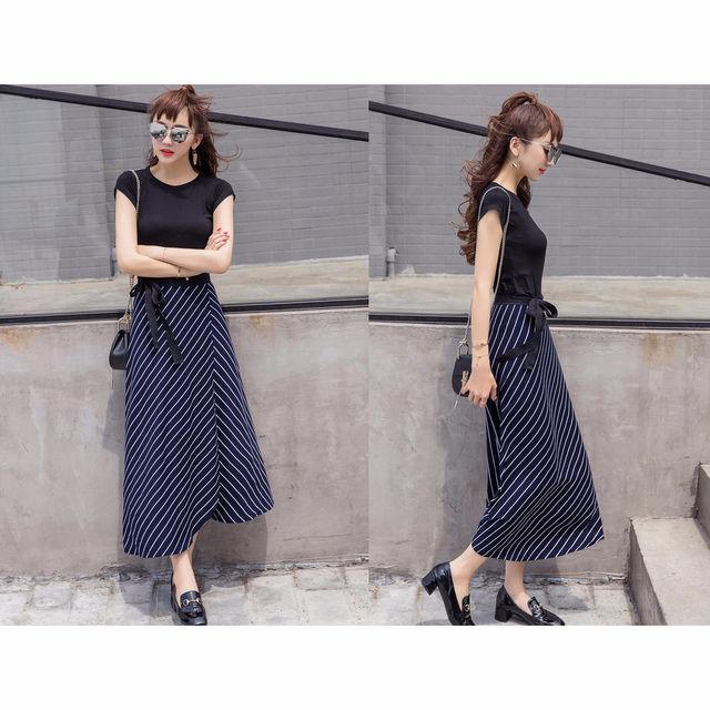 【女性らしさ満点】リボンラップスカート - フリマアプリ&サイトShoppies[ショッピーズ]