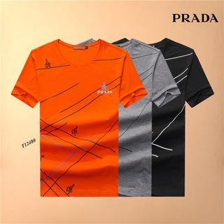 新品入荷 プラダ Tシャツ 3色 オレンジ入荷 国内発送