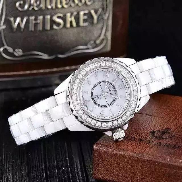 J12 クオーツ腕時計セラミック レディース