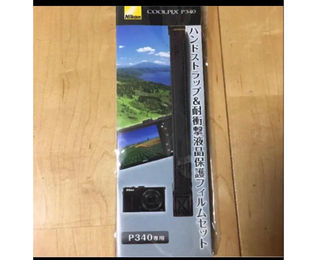 P340専用ハンドストラップ&フィルムセット