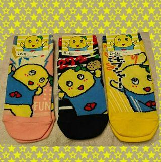 【新品タグ付】ふなっしー 靴下 3足セット