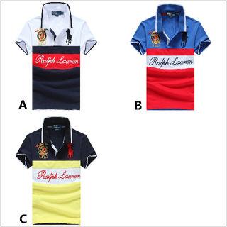 大人気 ラルフローレン メンズTシャツ 3色選択可