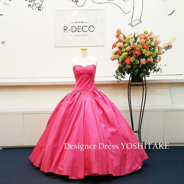 ウエディングドレス ピンク 披露宴/二次会 - フリマアプリ&サイトShoppies[ショッピーズ]