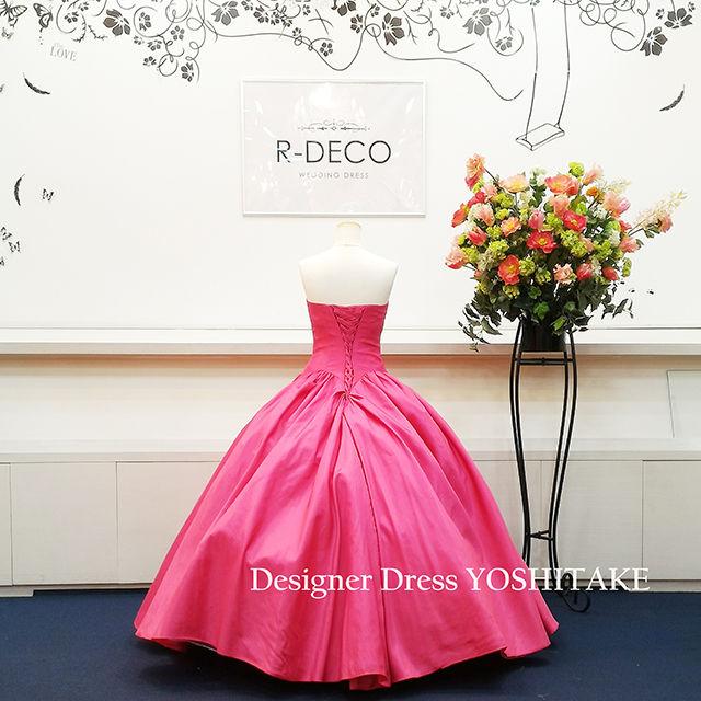 ウエディングドレス ピンク 披露宴/二次会