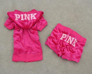PINK 大人気!セットアップ 上下セット 半袖 夏