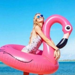 インスタで大人気なフラミンゴの浮き輪☆ピンク