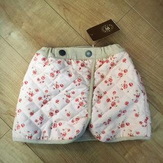 【新品】90cm 裏起毛 スカート バラ キムラタン