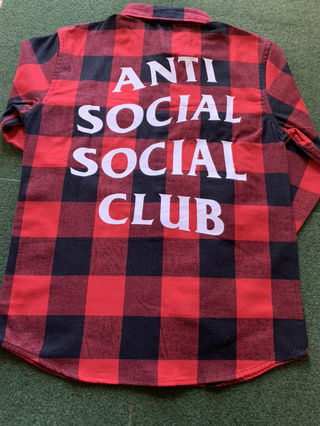 ANTI SOCIAL SOCIAL CLUB ネルシャツ
