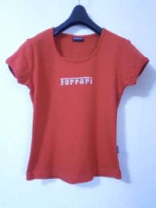 大人可愛い美品正規純正品フェラーリTシャツ