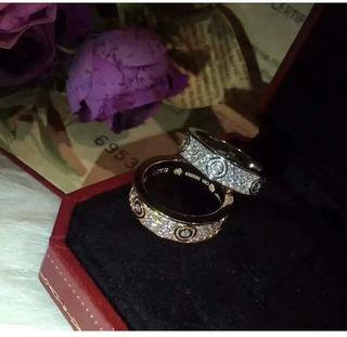 Cartier ピンクゴールド指輪