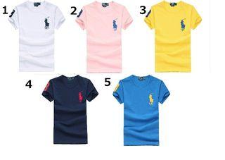 送料無料新品POLOポロ ラルフローレン男女通用Tシャツ9色