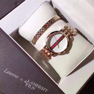 GUCCIグッチ/【2点セット】腕時計 ブレスレット2-54