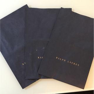 RALPH LAUREN大きめ紙袋3枚