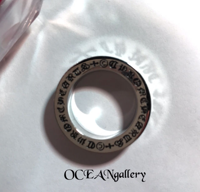 29号 シルバーファックユークロス十字架スペーサーリング指輪