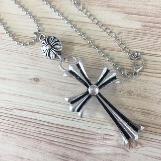重みあり! クロスネックレス十字架ネックレス