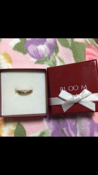 BLOOM ピンクゴールド指輪