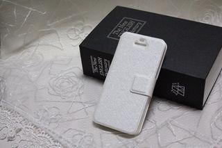 手帳型カード入れ付きiPhone5ケース(新品)