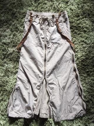 ゴアサスペンダー付 硫化スライダー ロングスカート