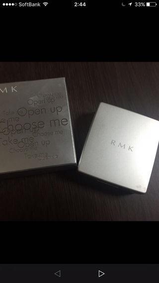美品 デパート購入 RMKプレストパウダー