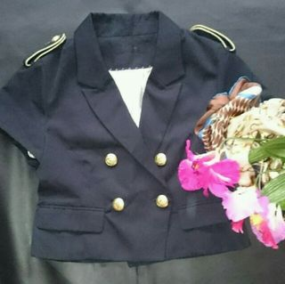 新品!ジーナシス半袖×ナポレオンジャケット