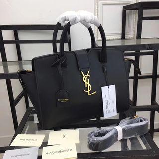 人気美品 通勤2wayトートバッグ 高品質 黒