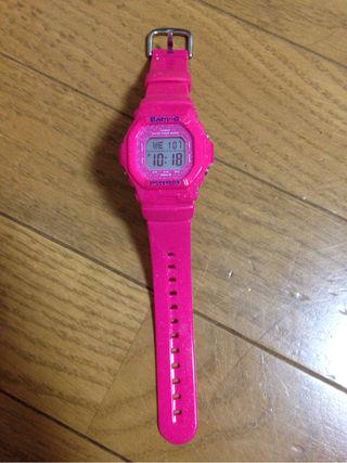 BABY-G ショッキングピンク 腕時計