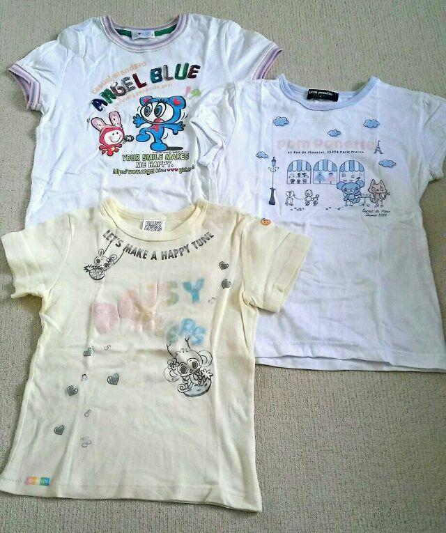 ナルミヤ / 3枚組半袖Tシャツ(pom ponette(ポンポネット) ) - フリマアプリ&サイトShoppies[ショッピーズ]