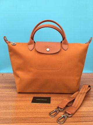 Longchamp  トートバッグ  オレンジ M